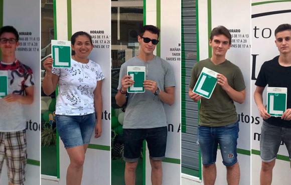 Cinco exámenes perfectos, cinco nuevos aprobados